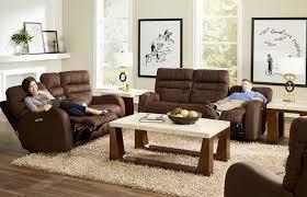 Reclining Living Room Set Catnapper Kelsey Power Headrest Power Lay Flat Reclining Sofa Set