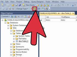 how to view table in sql how to create a sql server database 12 steps with pictures