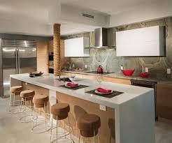 cuisine americaine appartement appartement design luxe avec superbe vue sur la mer à miami