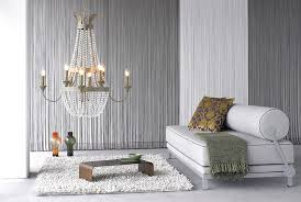 Orange And White Scheme Color Ideas For Living Room Decorating - Fabric wall designs