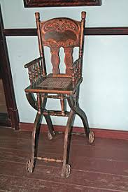 Antique Wooden High Chair High Chair Wikipedia