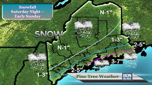 Map Of Maine Coast Storm To Bring Snow To Coastal Maine Saturday Pine Tree Weather