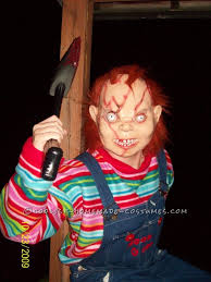 Chucky Halloween Costumes Girls Creepy Seed Chucky Homemade Halloween Costume Homemade