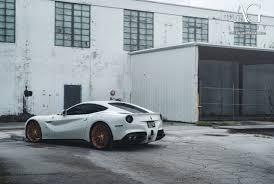 Ferrari F12 White - ag luxury wheels ferrari f12berlinetta forged wheels