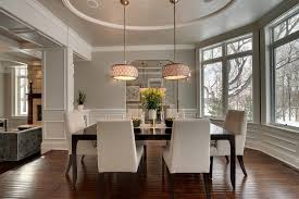 Revere Pewter Dining Room Contemporary With Area Rug Nickel - Revere pewter dining room