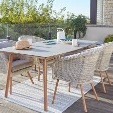 Table Et Chaises De Jardin Leroy Merlin by Salon De Jardin New England Blanc 4 Personnes Leroy Merlin