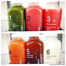 snap kitchen u0027s clean start juice program