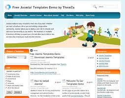 days free joomla template from themza
