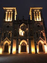 san fernando cathedral light show san antonio oh the places we ll go