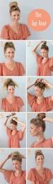 simple hairstyles for girls with medium length hair 101 cute u0026 easy bun hairstyles for long hair and medium hair