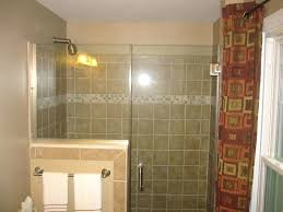 Half Shower Doors Shower With Half Wall Shower Door Half Wall In Fabulous Home