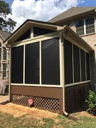 shed roof screened porch fort mill sc deck builder patio builder pergola builder porch
