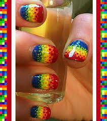 19 amazing rainbow nail art designs pretty designs