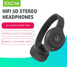 aliexpress qcy qcy j1 noise cancelling 4 1 wireless bluetooth headphones with