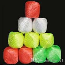 plastic ribbon online cheap 10 rolls pack colored plastic rope packaging rope for