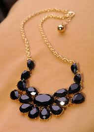 black rhinestone necklace images J well premier jewelry black rhinestone fashion accessory luxury jpg