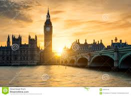 London Clock Tower by View Of Big Ben Clock Tower At Sunset Stock Photo Image 59503163