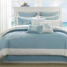 bedroom blue seaworld comforter sets queen for bed covering idea