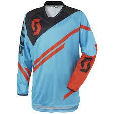 cheapest motocross gear scott 350 dirt jersey blue yellow offroad jerseys prestigious