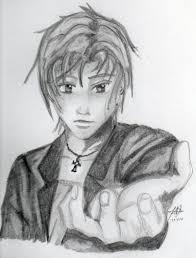 pencil sketch of a boy desipainters com