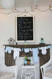 Low Cost Wall Decor 22 Cute U0026 Low Cost Diy Decorating Ideas For Baby Shower Party