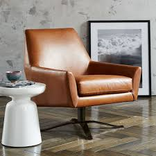 swivel leather chairs living room lucas leather swivel base chair 160 living rooms room and
