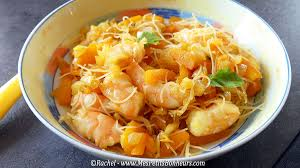 cuisiner vermicelle de riz recette wok facile vermicelles de riz aux crevettes
