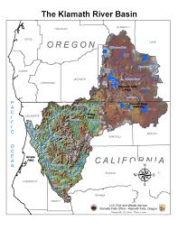 Klamath Falls Oregon Map by Institutional Networks And Adaptive Water Governance In The