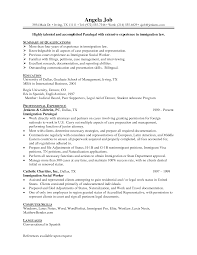 Sample Resume Objectives Social Work by Corporate Paralegal Resume Sample Resume For Your Job Application