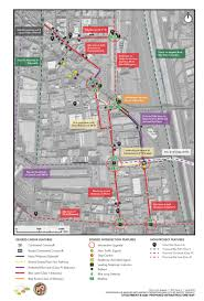 Los Angeles Safety Map by Arts District Awarded 15m To Spend On Bike And Pedestrian
