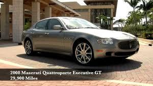 maserati celebrity 2008 maserati quattroporte executive gt youtube