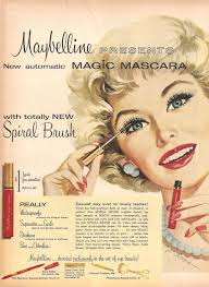 Makeup Artist Handbook Maybelline Advert 1959 Hair And Makeup Artist Handbook