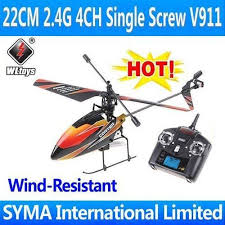 best 4ch helicopter wholesale wl toys v911 4ch 2 4g best single blade gyro lcd