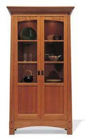 tall mission style curio cabinet i u0027ve been looking for one just