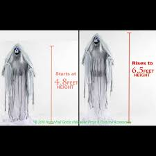 animated props motion activated spooky sounds lighting lamps