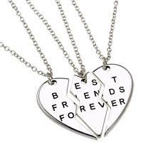 friendship heart necklace images Friendship necklace amazon co uk jpg