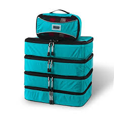 Pro packing cubes 5 piece lightweight travel packing cubes set