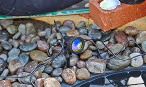 how to install pond lights bunnings warehouse