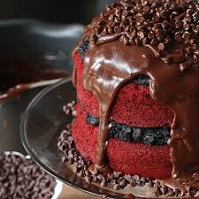 red velvet oreo truffle chocolate cake recipe oreo red velvet