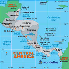 map of united states countries and capitals central america capital cities map central america cities map