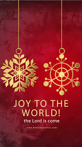 joy to the world christian christmas mobile wallpaper for android