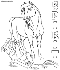 spirit cimarron coloring pages coloring pages to download and print