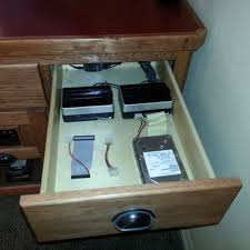 Unfinished Computer Armoire by Computer Built Into Desk Drawer Http Devintavern Com