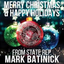 illinois state representative batinick merry happy