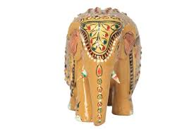 Statues For Home Decor by Best Wooden Elephant Figurine Showpiece Elephant Elephant Statues