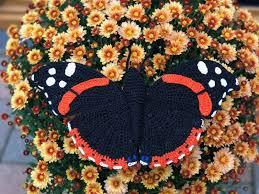 admiral butterfly amigurumi pattern amigurumipatterns