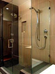 bathroom roman shower with glass door and stainless steel handle modern touch bathroom with roman shower roman shower with glass door and stainless steel handle