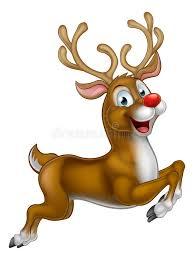 christmas reindeer santas christmas reindeer stock vector illustration of