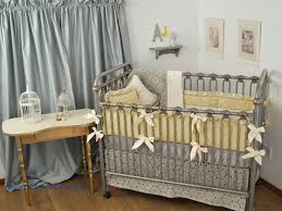 Gray And Yellow Crib Bedding 240 Best Grey Crib Bedding Images On Pinterest Grey Crib Pine