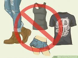 how to dress professionally with pictures wikihow